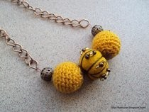 Hand Felted Beads Necklaces