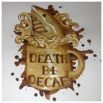 Instant Coffee Painting