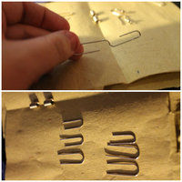 How to make a pair of toy earrings. Whisk Earrings - Step 1