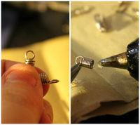 How to make an earring. Whisk Earrings - Step 3