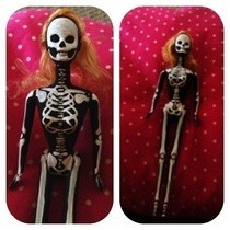 Skeleton Barbie
