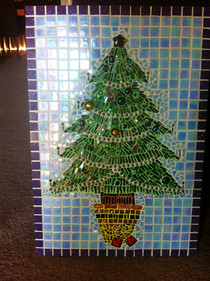Mosaic Christmas Tree