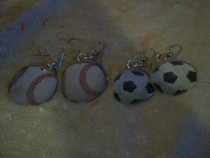 Sports Balls Earrings