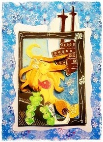 Little Mermaid Atc