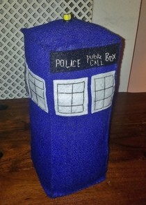 Doctor Who Felt Tardis