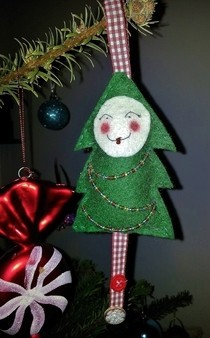 Christmas Tree Dotee Doll!