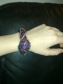 Twisted Wool Bracelet