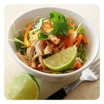 Low Fat Sweet Chilli Chicken & Noodle Salad