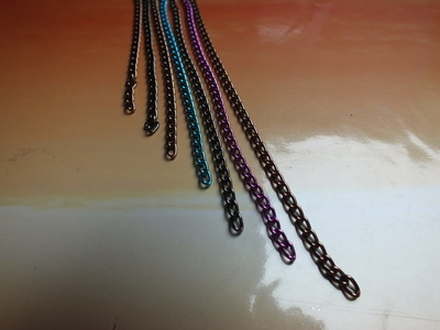 How to make a chain necklace. Collar Necklace - Step 2