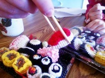Crochet Sushi