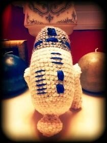 R2 D2 Amigurumi