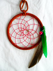 Pink Sugar Hemp Dreamcatcher