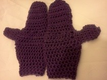 Purple Mitten 