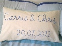 Wedding Gift Pillow