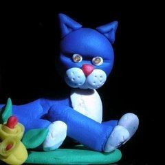Play Doh Cat