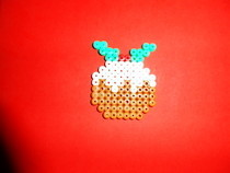 Mince Pudding Hama Beads