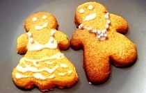Blinging Gingerbread Men