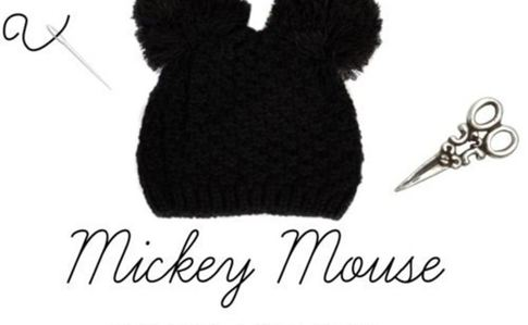 Mickey Mouse / Pom Poms Beanie! (Quick And Easy!) ^^