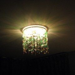 My Green, Green,For Not A Lot Of Green Chandelier
