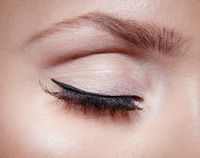 How to create a retro / pinup eye makeup look. Ava Gardner - Step 1