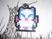 Moogle Perler Creation