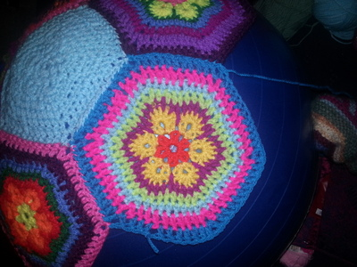 How to make a plushie toy. Amazeballs   Crochet Yoga Balls - Step 2