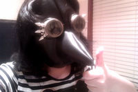 How to make a mask head. Steampunk Plague Doctor Mask - Step 11