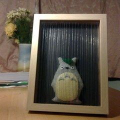 Totoro In The Rain Box Frame