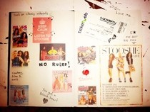 Stooshe Scrapbook Page