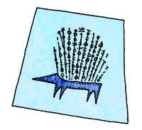 How to make a tote bag. Hedgehog Craft Bag - Step 4