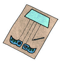 How to make a mat/rug. Pippi Rug - Step 8