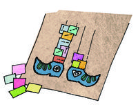 How to make a mat/rug. Pippi Rug - Step 9