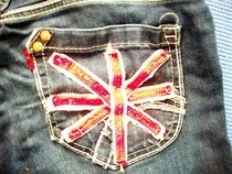 British Flag Jeans