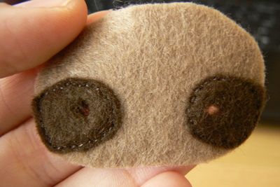 How to make a sloth plushie. Sock Sloth - Step 6