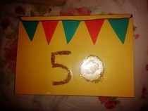 50 Th Birthday Card 2