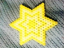 Hama Bead Star