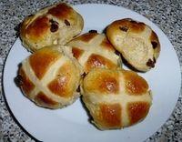 How to bake a hot cross bun. Hot Cross Buns - Step 5
