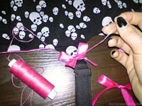 How to make a garter. How To Make A Garter Belt - Step 20