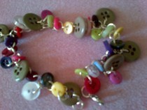 Mixed Button Bracelet