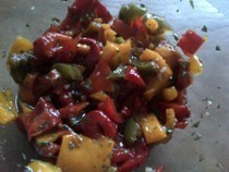 Roasted Marinated Peppers