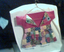 Little Dress Clothespin Bag