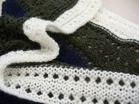 How to make a shawl. Basta Shawl - Step 4
