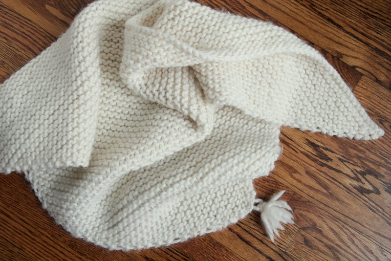 Triangle Knit Scarf Pattern : Triangle Scarf/ Throw ? How To Make A Knit Scarf / Crochet Scarf ? Yarncraft ...