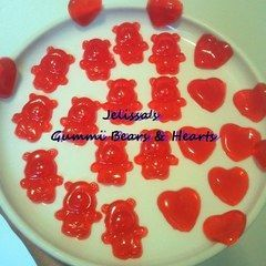 Gummy Bears And Hearts