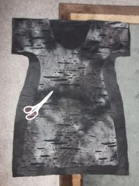 How to make a tunic dress. Dolman Top - Step 2