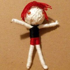 Make Your Own String Doll!