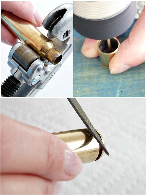 Fascinating Jewelry Making Craft Diy Bullet Necklace · 410 ...