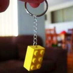 Lego Keychain.