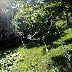 Wire Crystal Dream Catcher