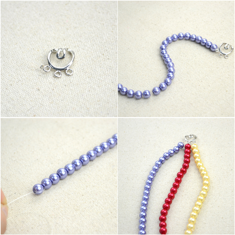 Bracelet making with thread easy